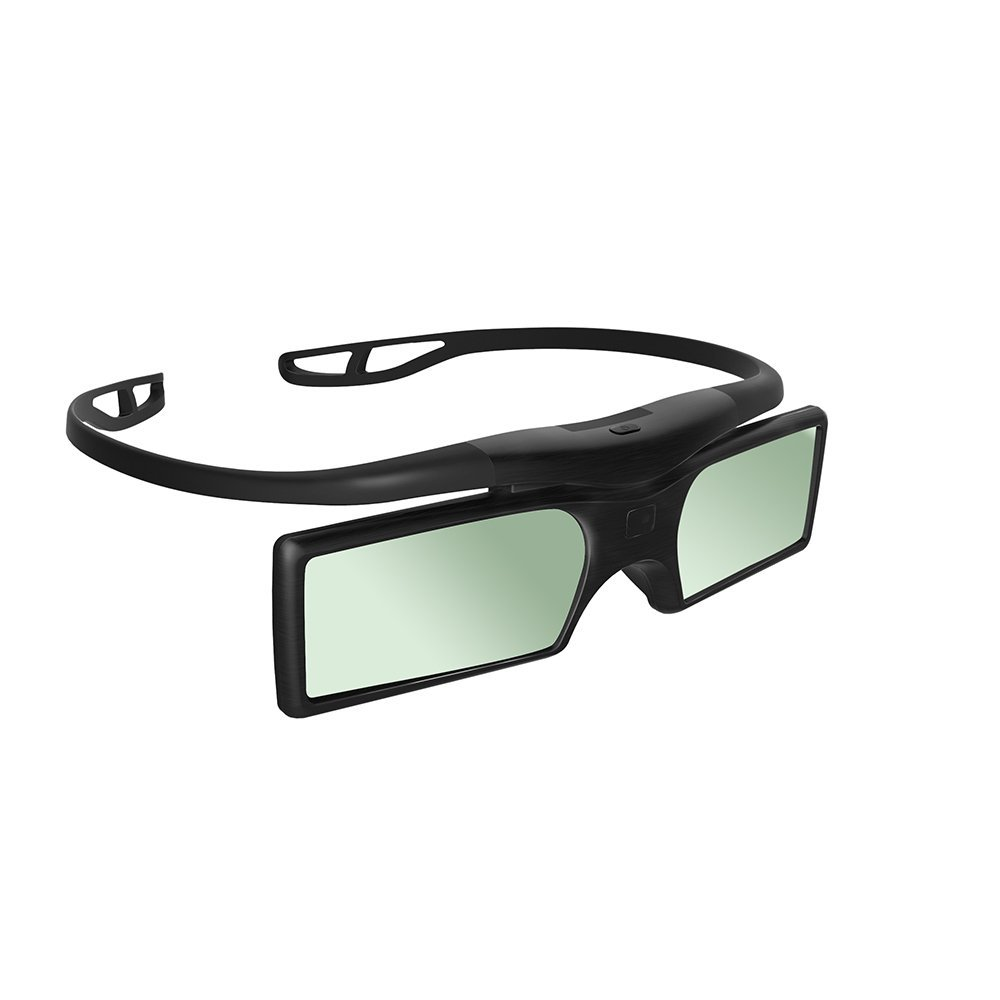 Top Deals Gonbes G15 BT Bluetooth 3D Active Shutter Stereoscopic Glasses For TV Projector Epson Samsung