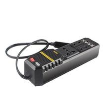 Car Power Inverter 12 To 220V 300W Voltage Converter 50Hz Peak 2 USB Port Protections 220 Auto Socket
