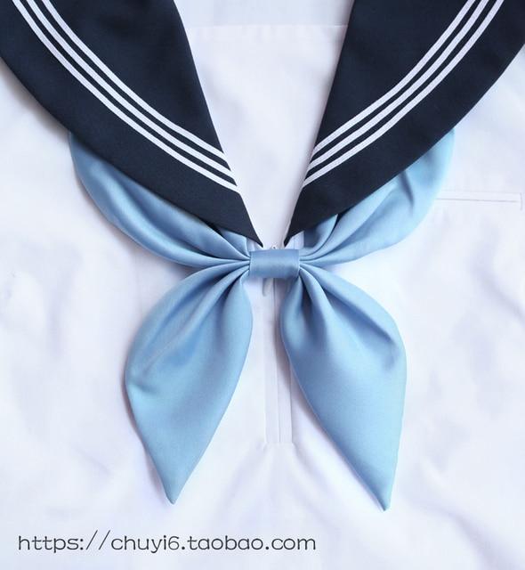 Bow Tie Scarf Japanese School Girls Women Students Uniform Neck Wear Accessories