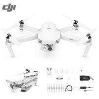 DJI Mavic Pro Alpine White OcuSync Transmission WIFI FPV Combo With 3 Axis Gimbal 4K Camera RC Quadcopter Selfie Drone