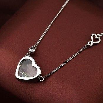 Κρεμαστό μενταγιόν με κρύσταλλα σε σχήμα καρδιάς