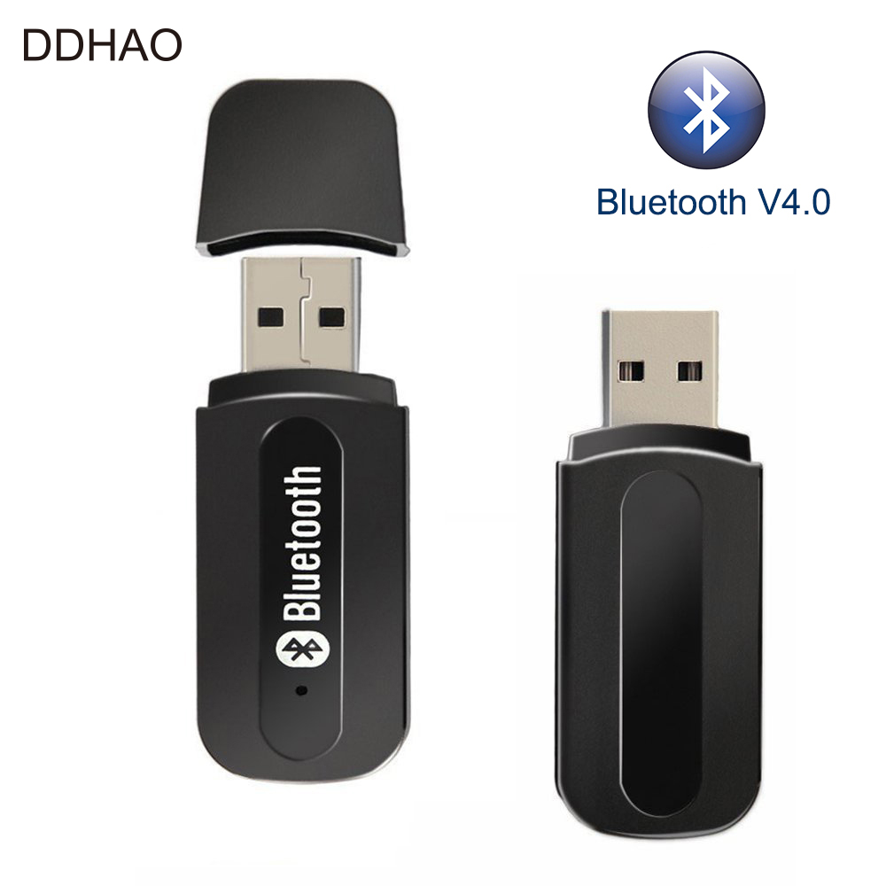 Usb Interface Bluetooth A2dp Music Streaming Adapter: 2 IN 1 Car USB Bluetooth V4.0 Adapter Audio Music Receiver