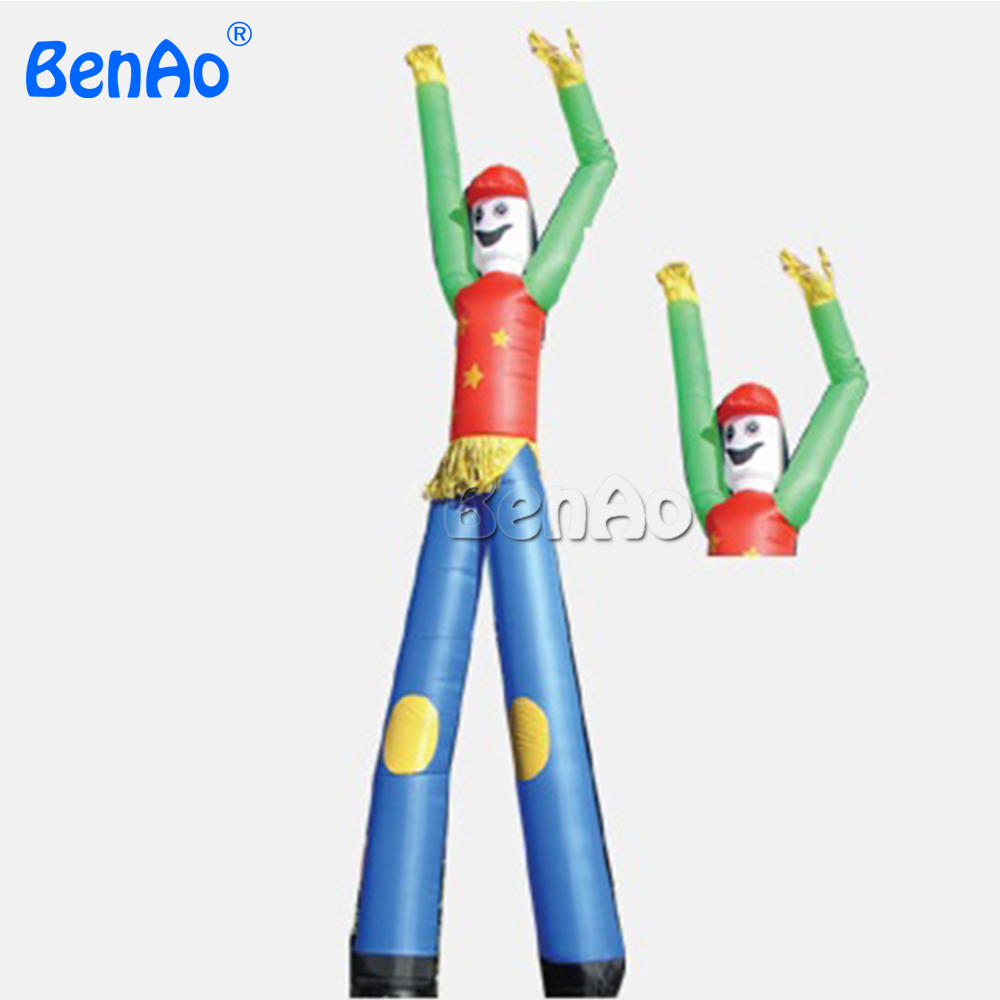 AD002 BENAO DHL Free shipping sky dancer costumes inflatable advertising air dancer with double legs