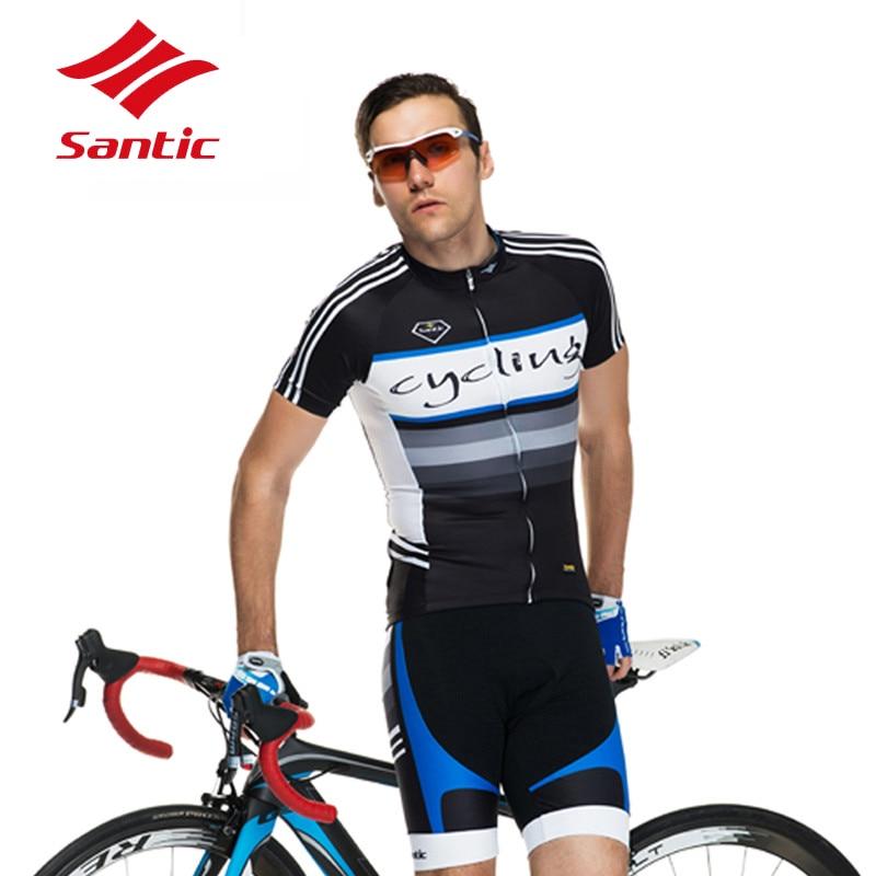 2018 Сантич Велоспорт Джерси Мужчины Дышащий Велоспорт-Джерси Мужчины Лето Велосипед Джерси MTB Дорога Спорт Лыжи Катание Комплекты Джерси Велосипед