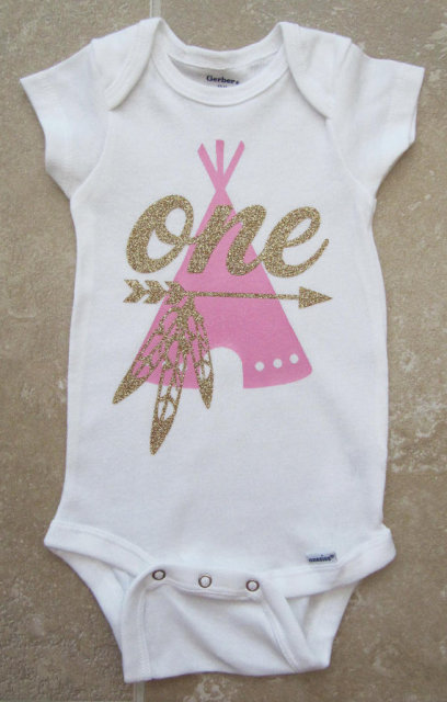 6bc93daf4 personalized Wild One Teepee boy girl first birthday bodysuit onepiece Tutu  Dress romper Outfit Set baby
