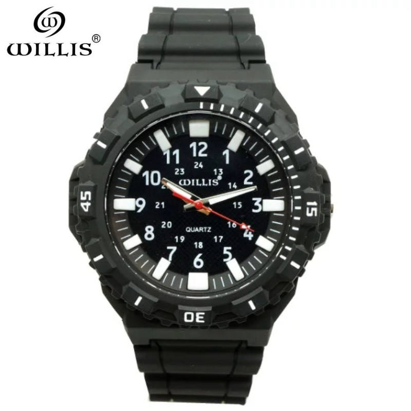 Fashion Men Casual Watch WILLIS Brand Waterproof Quartz Silicone Watch Sports Leisure Patterns Silicone Simple Girls clock Watch цена