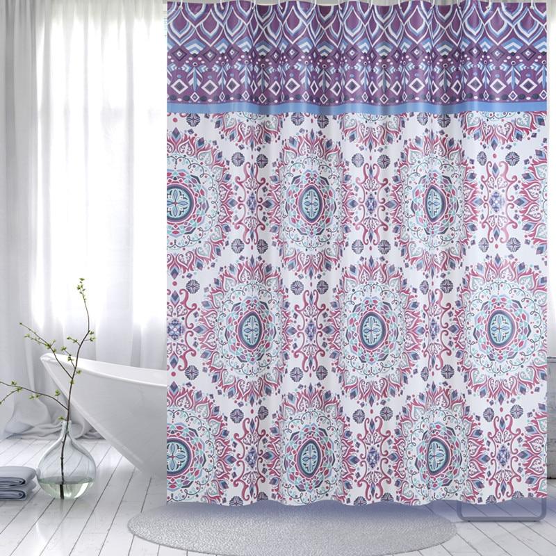Waterproof Thick Shower Curtain Bathroom Partition Blackout Curtains Bath  Curtains Peva Shower Curtain Free Shipping  In Shower Curtains From Home U0026  Garden ...
