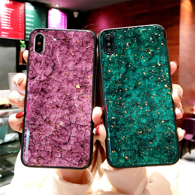 Shining Marble Gold Foil Case For Xiaomi Redmi A1 A2 MIX MAX 2 2S 3 S2 Note 3 4 4A 4X 5 5S 5X 5A 6 6A 6X 7 8 9 SE Plus Pro Cover