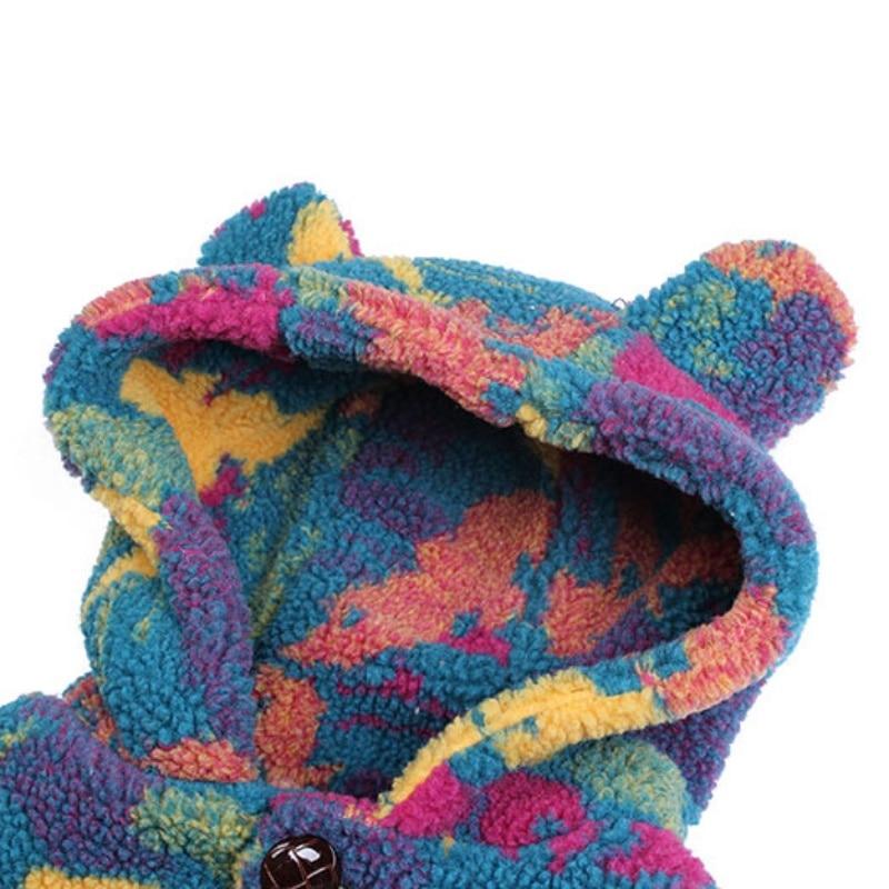 Jungen Jacken, Mäntel & Westen LPATTERN Junge Winter warme Baumwollkleidung Winterjacke DE-7-8185