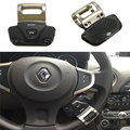 Black Wireless Bluetooth Handsfree Speakerphone Handset Kit Car Steering Wheel Alloy