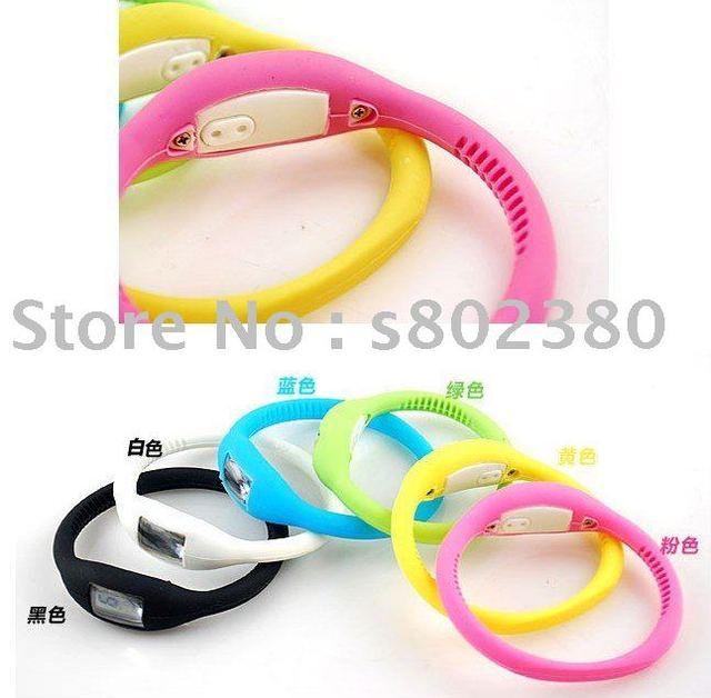 free shipping Anion watch Fashion Wrist sport Watch 1ATM waterproof silicone watch