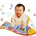 Alta qualidade de piano música peixe animal mat toque kick play fun toy para o miúdo do bebê da criança presentes 63 cm * 29 cm