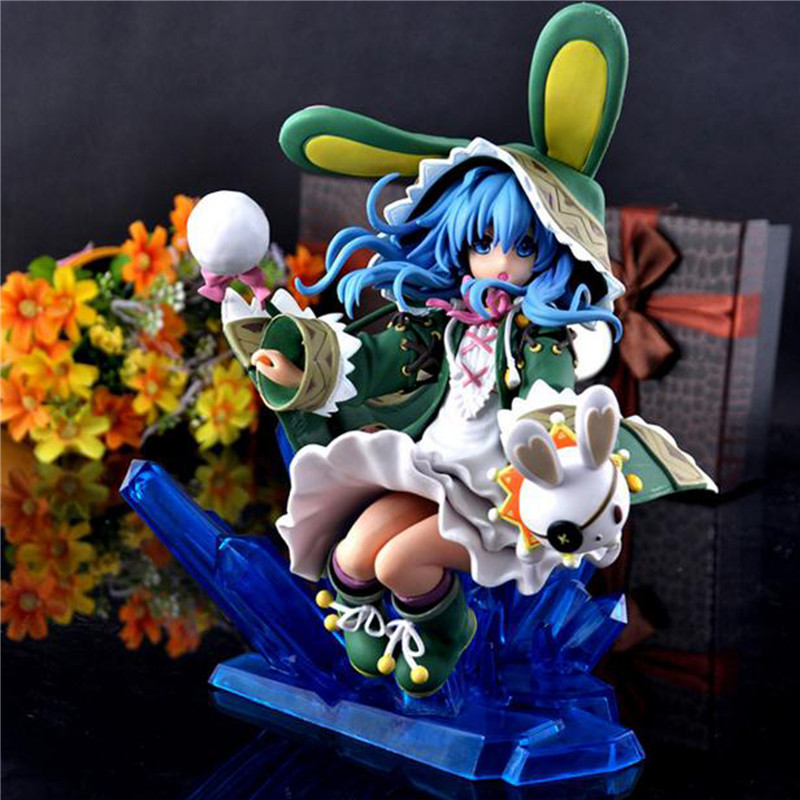 1pc/lot Japan Anime DATE A LIVE Hermit Yoshino Decoration PVC Action Figure Statue Model Toy Retail Box Collection Gifts 23cm 10cm japanese anime figure j g chen retail wholesale anime cute nendoroid 4 date a live yoshino action figure collection model