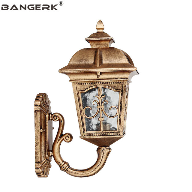 IP65 Waterproof LED Wall light European Wall Sconce Lighting Outdoor Lamp Decor Garden Antirust Die Casting Aluminum Fixtures
