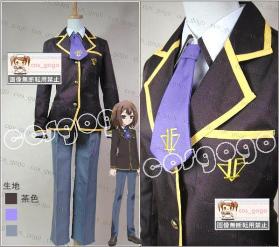 Baka to Test to Shoukanjuu Boy School Uniform Cosplay Halloween cosplay costume Free Shipping