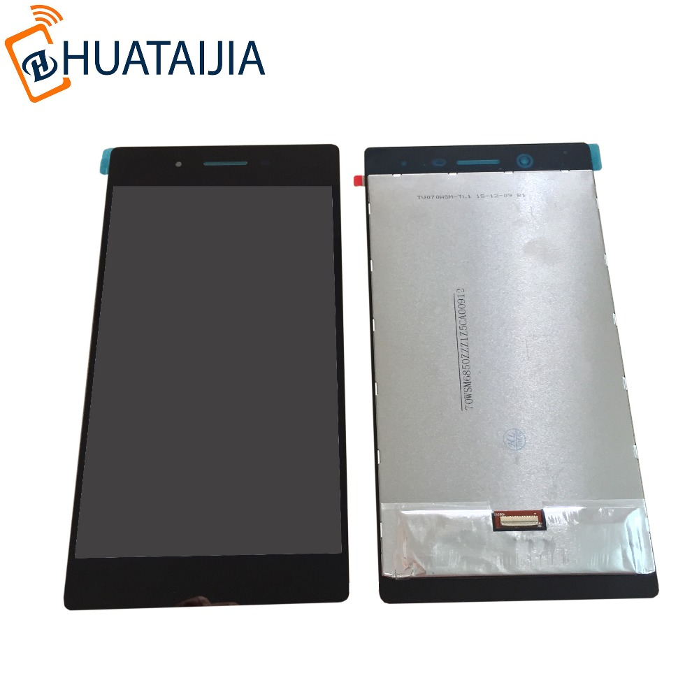Replacement for Lenovo Tab3 3 7 730 TB3-730 TB3-730X TB3-730F TB3-730M 7 inch LCD Display with Touch Screen Digitizer Assembly slim fit stand feature folio flip pu hybrid print case for lenovo tab 3 730f 730m 730x 7 inch