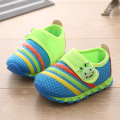 2016 Spring Net Surface Breathable Baby Shoes Han Edition Cute Baby Toddler Shoes Fashion Bugs Pattern