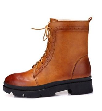 Size 34-39 full grain genuine leather women boots ...