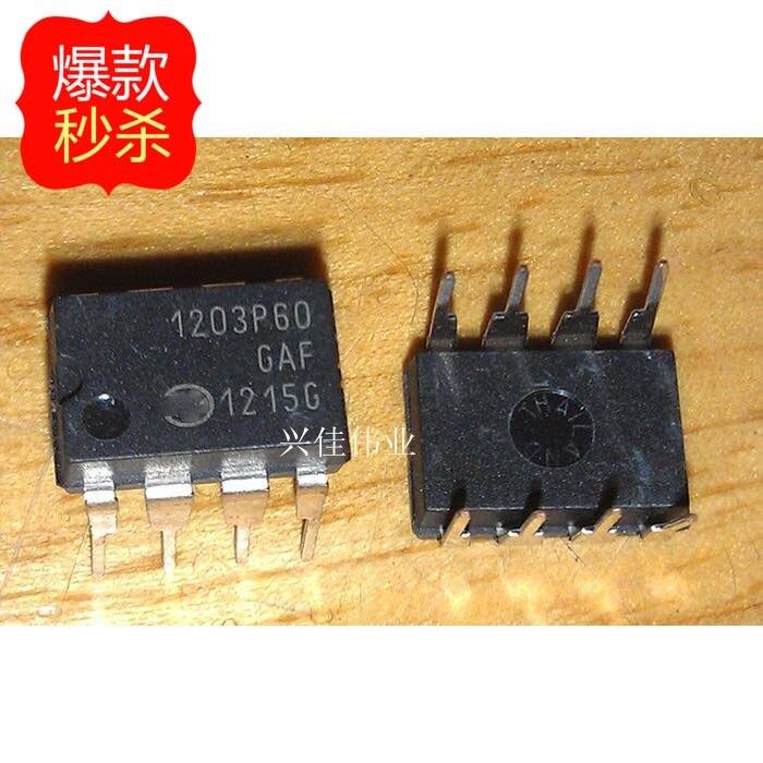 Free shipping 5pcs/lot NCP1203P60G 1203P60 DIP8 LCD chip 8-pin DIP new original