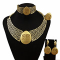 new arrive real gold plated jewelry sets women jewelry sets fine jewelry sets women necklace 18k jewelry sets