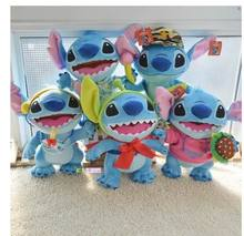2015 new Stitch 40cm 8colors Soft Stuffed Plush animal Doll Toy Children christmas new year best