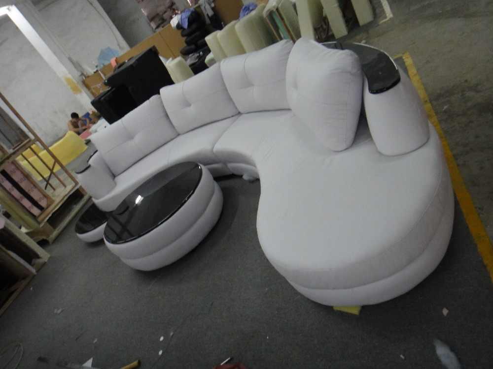 Современная кожаная софа с L форма диван набор для гостиной диван в комплекте журнальный столик