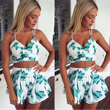 Women Ladies Clubwear V-Neck Playsuit Bodycon