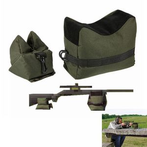 FS Sniper Shooting Bag Gun Front Rear Bag Rest Target Stand Rifle Support Sandbag Bench Unfilled Outdoor Hunting Accessories(China)