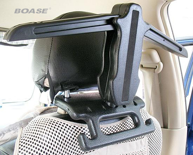 Multifunctional Hook&Hanger Car Auto Seat Headrest Coat Hanger Clothes Jackets Suits Holder 2015 New Arrival car headrest pole mounted hook grey pink pair