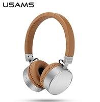 Usams marke drahtlose bluetooth headset stereo sound schwere bass kopfhörer kopfhörer mit mic für iphone/computer handy musik
