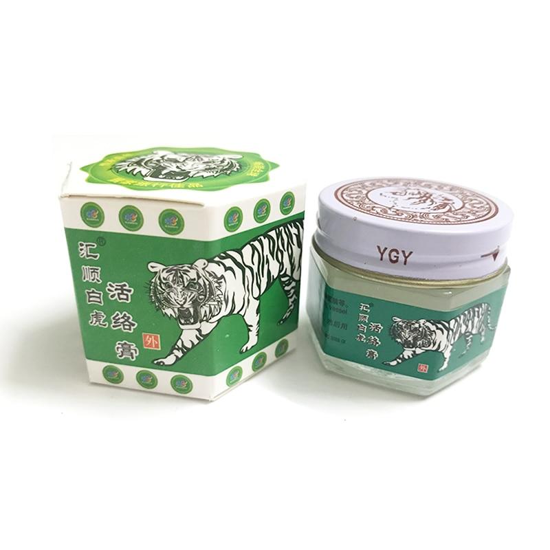100% Original White Tiger Balm Ointment For Joint Pain Arthritis Muscle Aches Headache Rheumatic Waist Back Pain Massage A082 цена