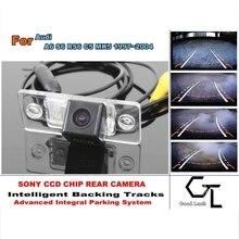 Per Audi A6 S6 RS6 C5 MK5 1997 ~ 2004 Smart Backing tracce Della Macchina Fotografica HD CCD Visione Notturna di Retrovisione Parcheggio in Retromarcia fotocamera