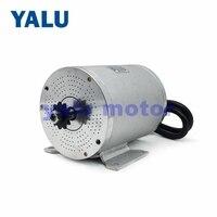 YALU BM1109 2500W 60V Brushless Electric Battery powered wheels car Driver Engine BLDC Motor For Go cart Mobility Scooter Kit