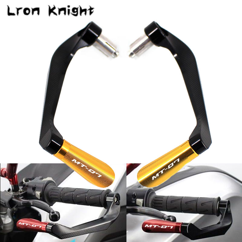 For YAMAHA MT-07 MT07 MT 07 Motorcycle Accessories Universal Handlebar Grips Guard Brake Clutch Levers Guard ProtectorFor YAMAHA MT-07 MT07 MT 07 Motorcycle Accessories Universal Handlebar Grips Guard Brake Clutch Levers Guard Protector
