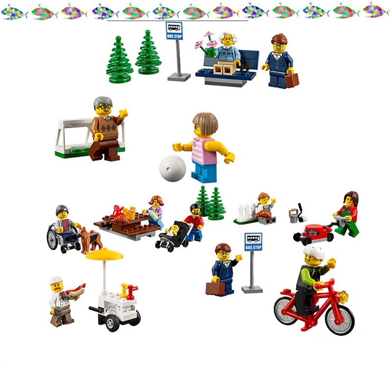 02058 City Series Lepin Building Blocks 258pcs Amusement Park Girl Friend Figure Bricks Toys Compatible Gifts For Children Kids waz compatible legoe city lepin 2017 02022 1080pcs city 50th anniversary town figure building blocks bricks toys for children