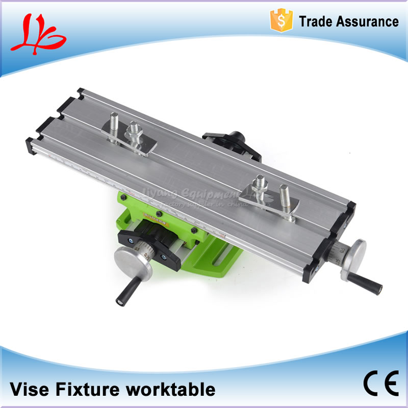 Miniature precision LY6300 multifunction Milling Machine Bench drill Vise Fixture worktable X Y-axis adjustment vice