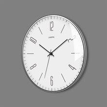 Decoration Living Room Simple Clock White Nordic Design Silent Wall Modern Decor Wanduhr Clocks Home Watch 50KO524