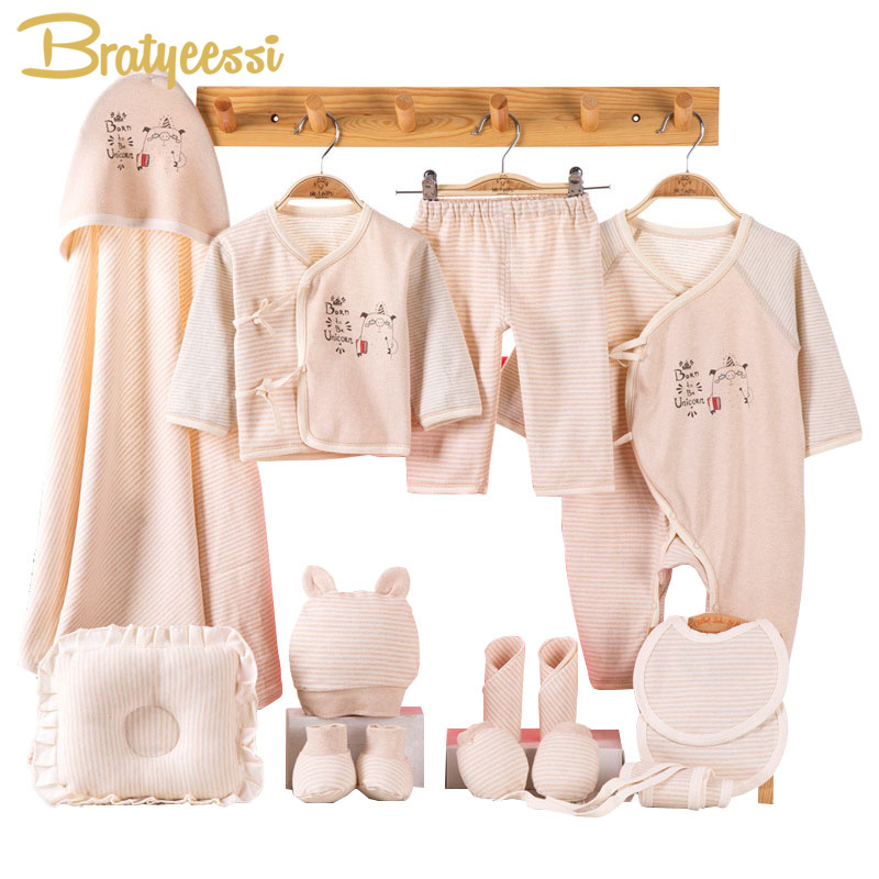 Cotton Newborn Clothes For Baby Girl Striped New Born Baby Boy Clothes Infant Clothing Suit Baby Outfit Newborn Set Gift