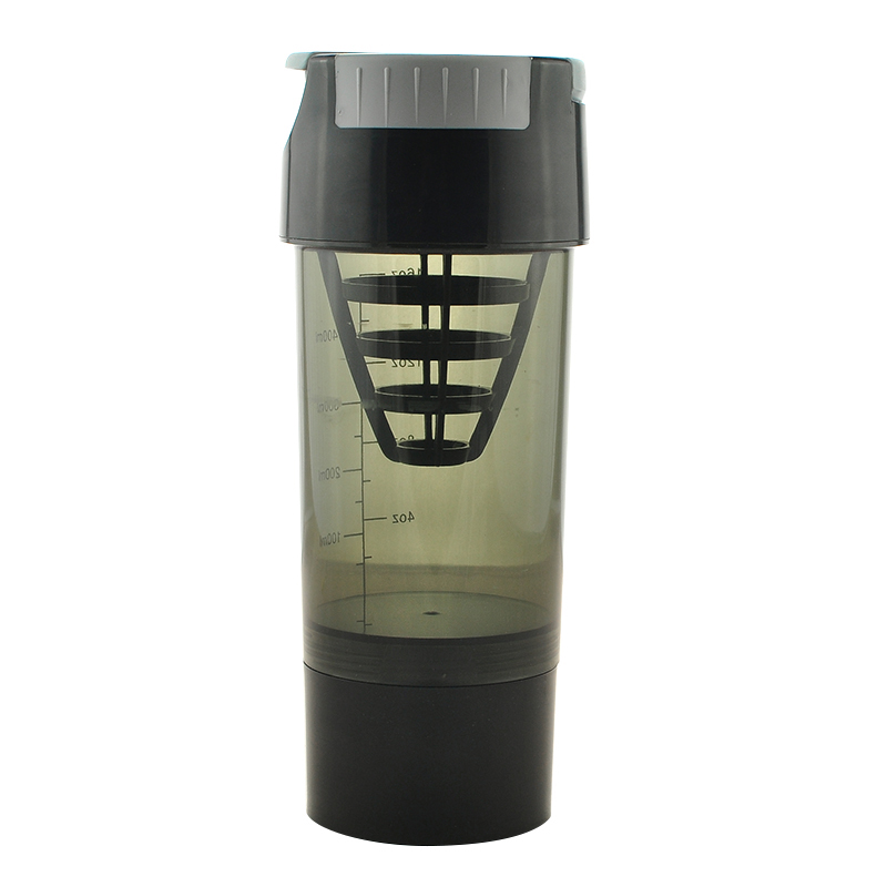 600-700ML Protein Shaker Protein Sports Nutrition Blender Mixer Bottle Fitness GYM Shake ...