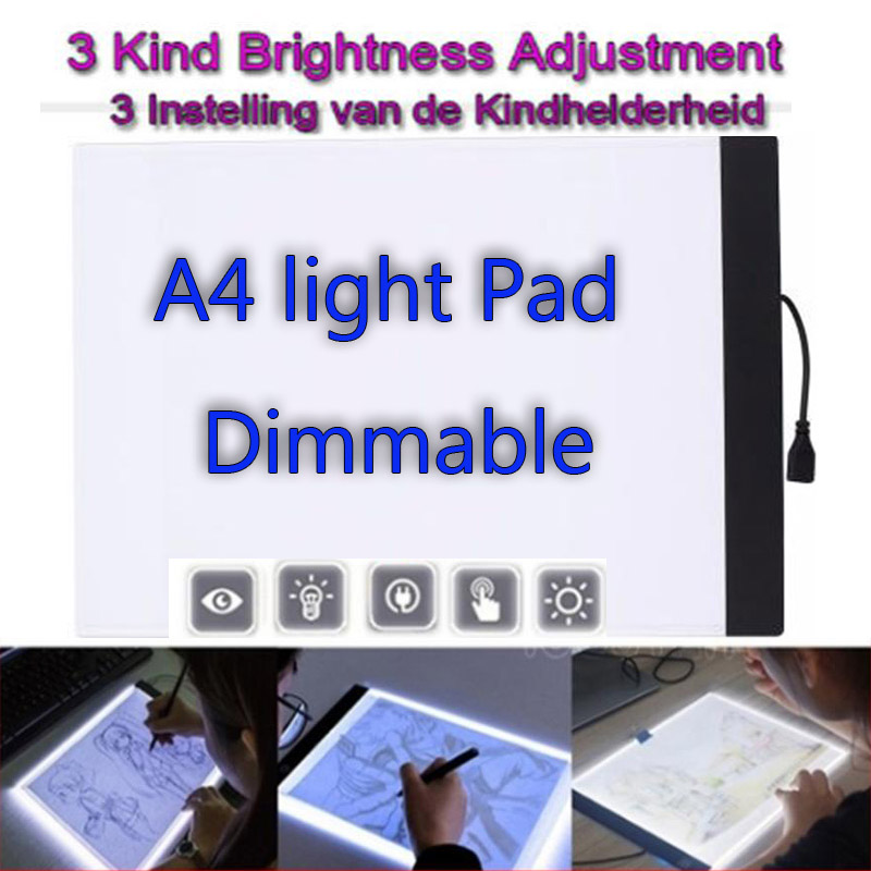 Dimmable A4 LED light Pad Tablet Tools Diamond Embroidery Accessories Painting