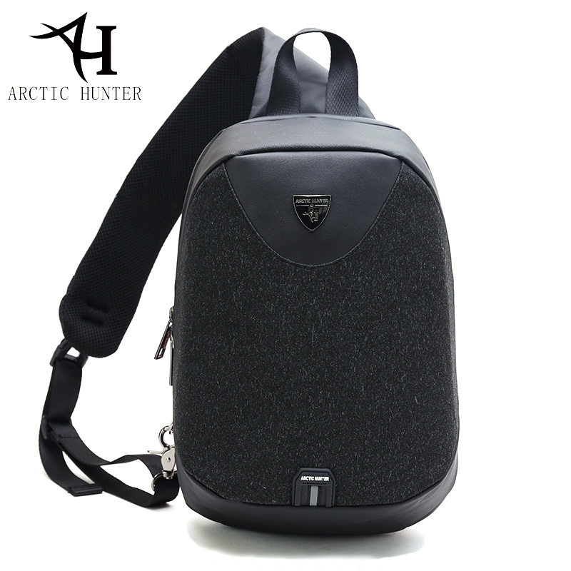 ARCTIC HUNTER Large Capacity Chest Pack Messenger Bags Men's School Bag Modern Shoulder Bag Unisex Crossbody Bag 2018 spring new