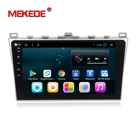 MEKEDE 1024*600 10 Android 7.1 car dvd player For Mazda 6 2008 2009 2010 2011 15 Autoradio Multimedia Audio Stereo GPS No DVD