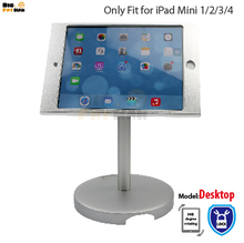 360 rotation pill computer stand show holder for iPad mini 1 234 stand protected desk prime holder Pill lazy Holder metallic field foothold
