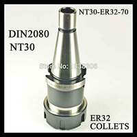 1 pcs NT30 Toohlholder ER 32 collet drill chuck DIN2080 COLLET CHUCK HOLDER FOR CNC machine MILLING LATHE TOOLS