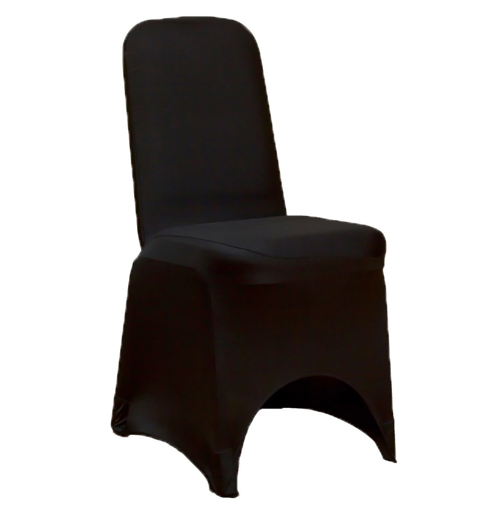 Aliexpress Com Buy 100 Black Spandex Lycra Chair Cover