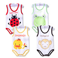 Children pajamas Spring summer newborn baby vest baby rompers sleeveless sleepping bag clothing jumpsuit baby girls boys clothes