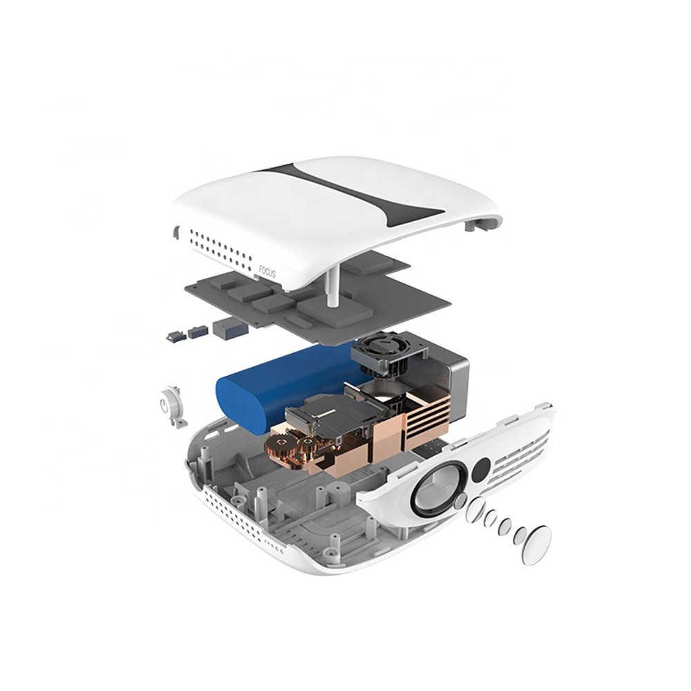 Мини-проектор 4 K портативный проектор светодиодный 3D проектор высокой четкости RD606 проектор Full HD проектор Поддержка WiFi Android 7,1