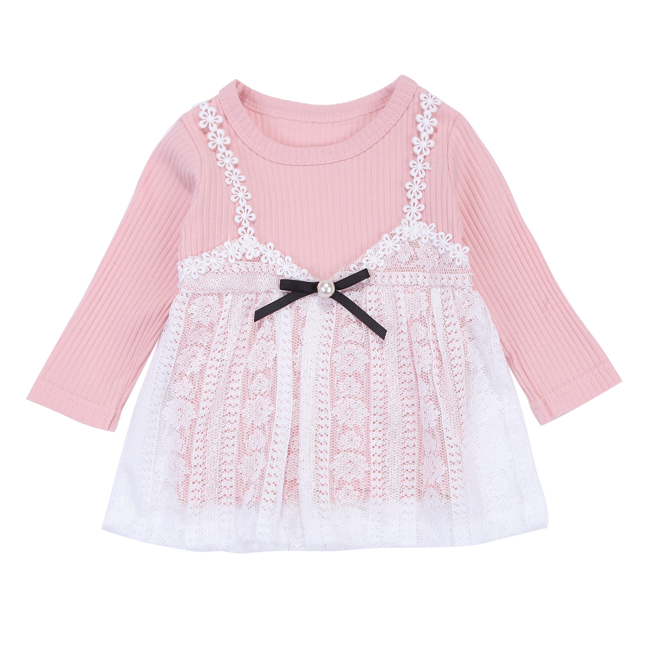 Newborn Kids Baby Girls Lace Floral Summer Clothes Mesh Tutu Tulle Mini Dress Princess Wedding Party Vestidos Dresses Sundress