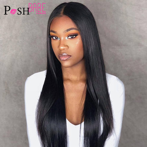 Lace Front Human Hair Wigs 8 - 28 inch 150% Density 13x6 Brazilian Straight lace wigs for Black Women Pre Plucked with Baby Hair