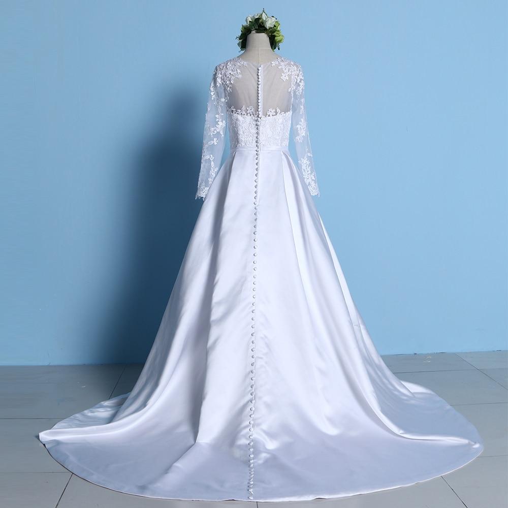 Vintage Cheap Wedding Dress 2017 China Bridal Gowns Satin Vestido de ...
